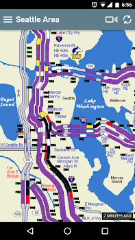 Seattle Traffic Flow By Wayne Dyck Travel Local Category 2
