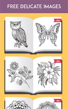 ColorRing Adult Coloring Book