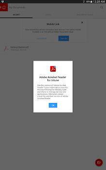 Acrobat Reader for Intune