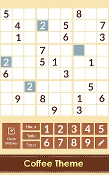 Sudoku Numbers Puzzle