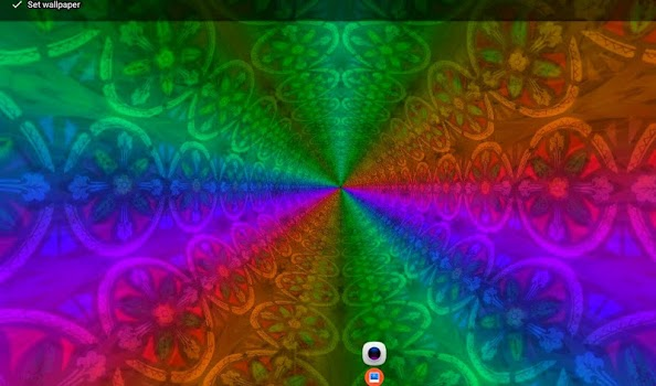 Crystal Tunnels Music Visualizer Live Wallpaper