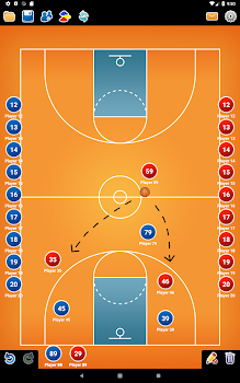 81469ec77167 Coach Tactic Board  Basketball - by BLUELINDEN - Category - 90 ...