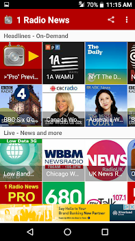 1 Radio News - Hourly, Podcasts, Live News