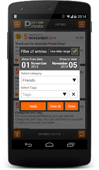 Private DIARY Pro - Personal journal