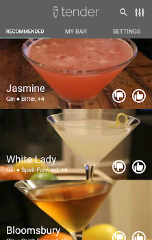 Tender Cocktails