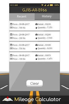 fuel manager mileage calculator by app bank studio tools