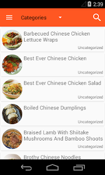 Chinese food recipes by omnidroid 5 app in chinese recipes chinese food recipes forumfinder Images