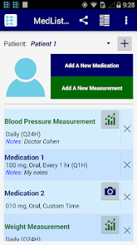 MedList Pro (Medication Reminder)