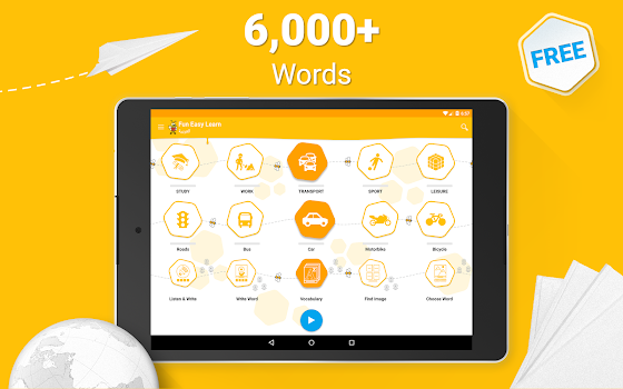 Learn Arabic Vocabulary - 6,000 Words
