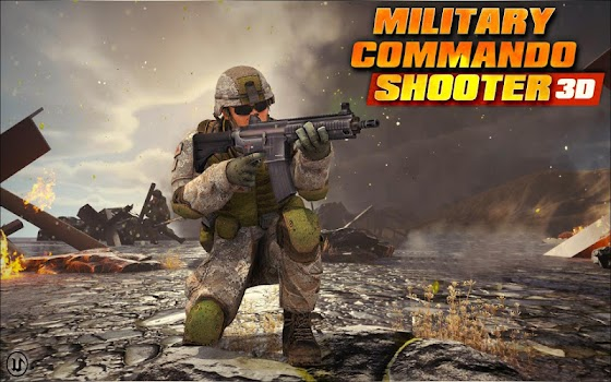 Military Commando Shooter 3D