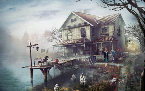 The Lake House Free. Hidden Objects.