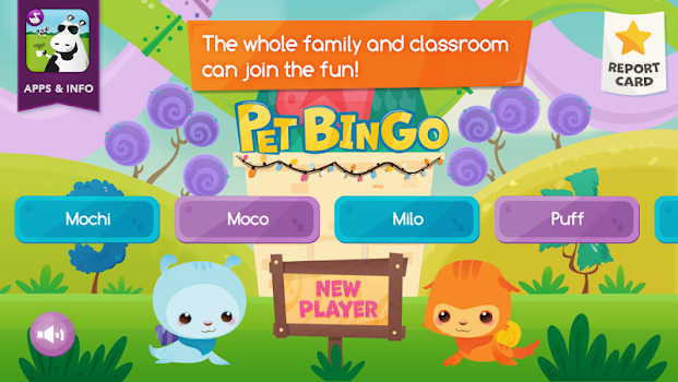 Pet Bingo by Duck Duck Moose