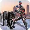 Multi Panther Hero Crime City Battle
