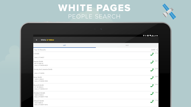 White & Yellow Pages