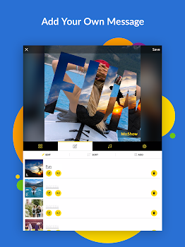 MoShow - Slideshow Movie Maker