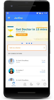 JustDoc Online Doctor - Consult a Doctor on Call