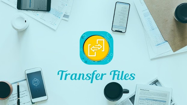 Transfer Files Anywhere - Share And Send Any File