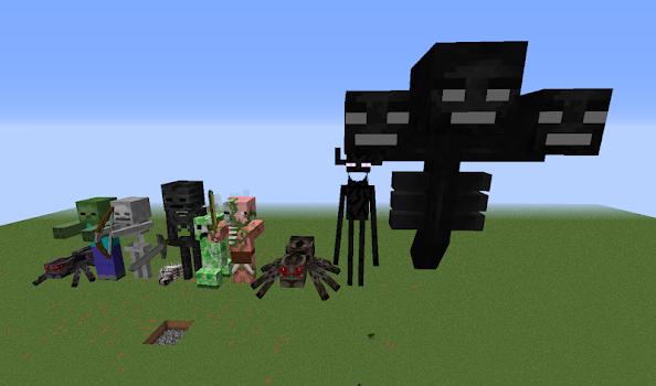 Mob Skins For Minecraft By KaleidoscopeGames Entertainment - Mob skins fur minecraft