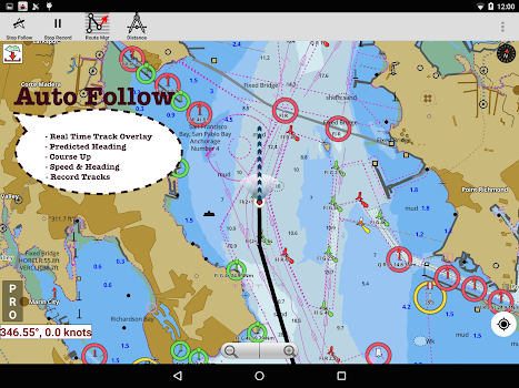 Uk ireland marine navigation charts fishing maps by gps nautical