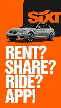 SIXT rent. share. ride.