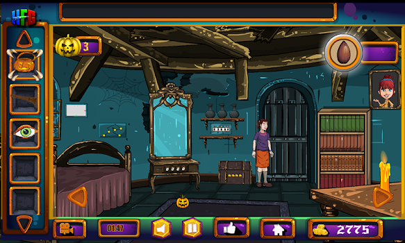 50 levels halloween escape game