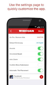 Wordosaur Top Rated Word Game