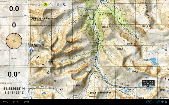 Soviet Military Maps Pro by ATLOGIS Geoinformatics GmbH Co KG