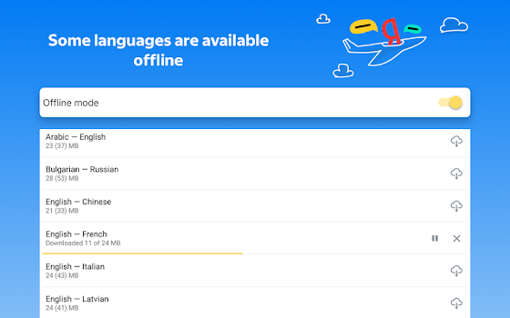 Yandex.Translate – offline translator & dictionary