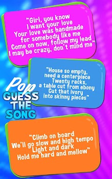 Guess The Song Pop Songs Quiz