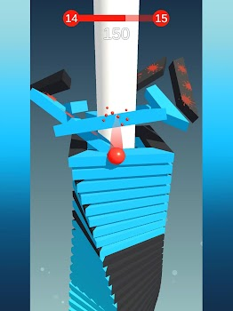Stack Ball - Blast through platforms