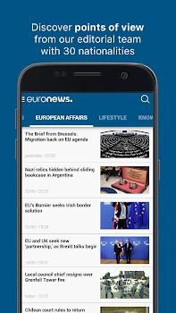 Euronews: Daily breaking world news & Live TV