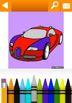 Vehicles, Cars, Trucks Coloring by TheColor.com - by TheColor.com ...