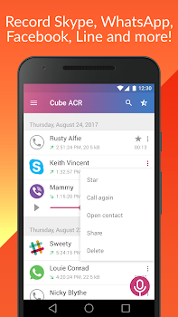 Cube Call Recorder ACR