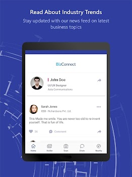 BizConnect - Business Card Reader