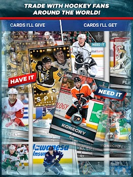 NHL SKATE: Hockey Card Trader