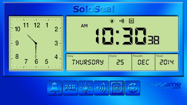 Awesome alarm clock by soloseal 14 app in clocks timers awesome alarm clock urtaz