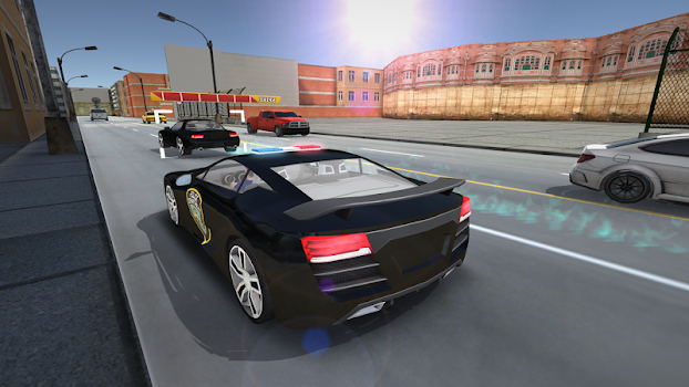 Police Car Chase Simulator 3D