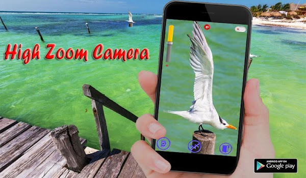 Big zoom camera télescope hd x360 by strongapp entertainment