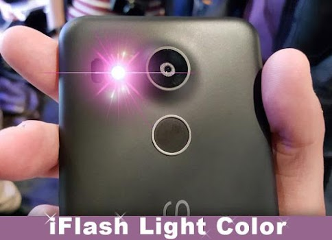 Color Flash Alert on CALL &SMS