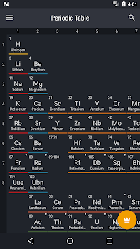 Best 10 apps for the periodic table of elements appgrooves periodic table 2018 urtaz Image collections