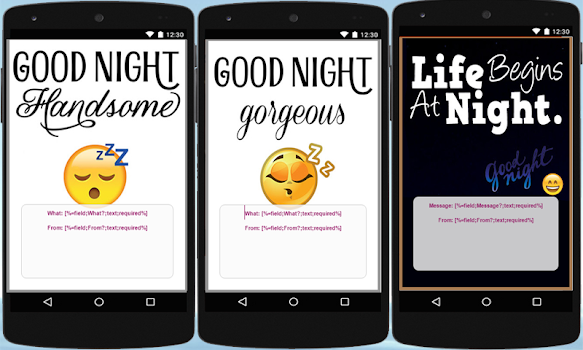 Good Night: Cards & Frames - by Limpat Apps - Photography Category ...