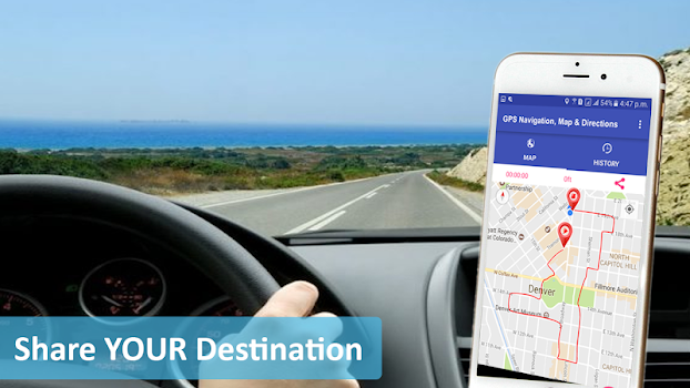 GPS , Maps , Navigations & Directions Tracker