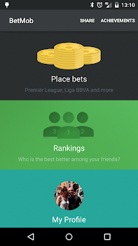 Soccer betting with BetMob