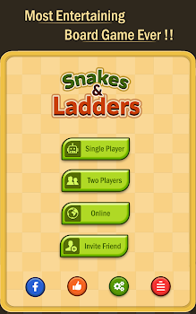 Snakes & Ladders: Online Dice!