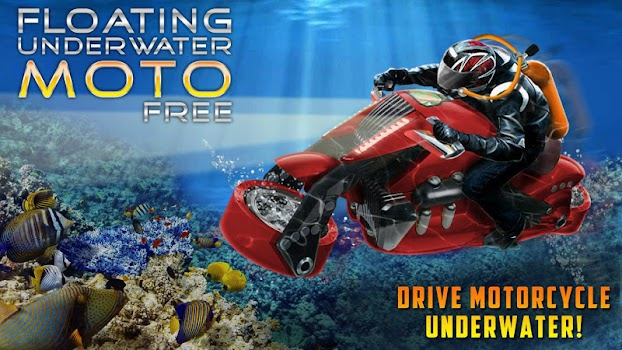 Motofree floating underwater moto free -train and car games - simulation