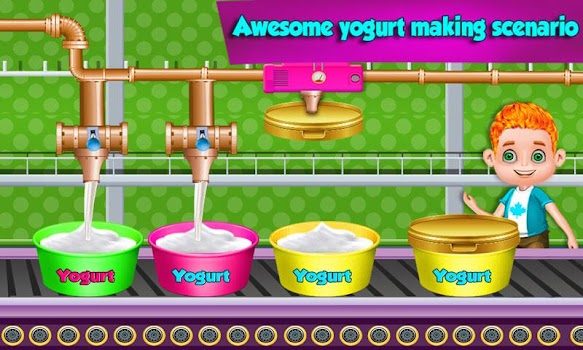 yogurt factory story game kitchen cooking craze by