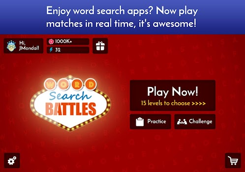Word Search Game - Battle Mode