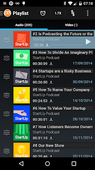 Podcast Addict (Android 2.3)