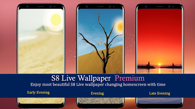 S8 S8 Live Wallpaper Day Night Beautiful By Daily Schedule