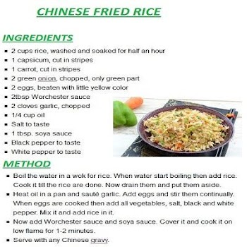 New chinese rice english recipes by designs lounge food drink new chinese rice english recipes forumfinder Choice Image